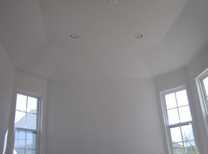 Octagon Shaped Addition with Tray Ceiling