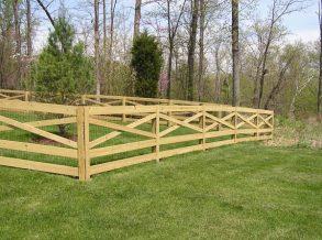 5 Board Estate Fence