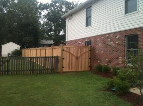 Cedar Custom Double Gate
