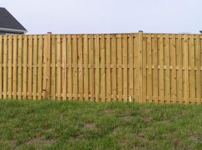 6' High Board on Board Privacy Fence