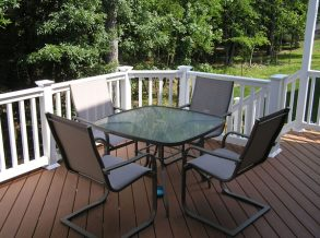 Trex Transcend Decking Treehouse
