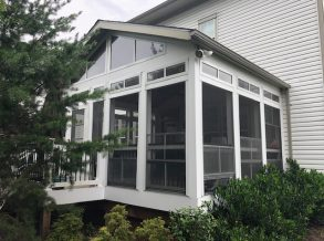 Porch with Eze Breeze Window System