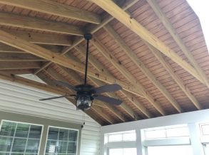Screen Porch Ceiling