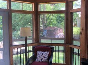 Eze Breeze Porch with Cedar Anterior